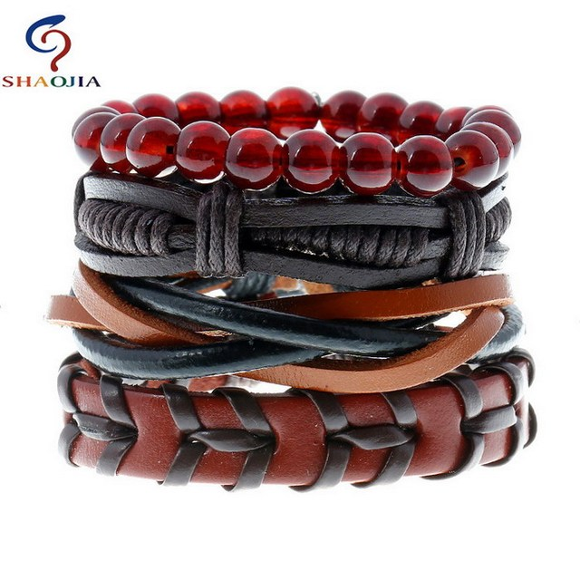 Men Leather Bracelets...