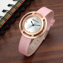 2017 Fashion Brand Watch Luxury Women Dress Watches Leather Strap Ladies Wristwatch Clock Female Relogio Feminino Montre