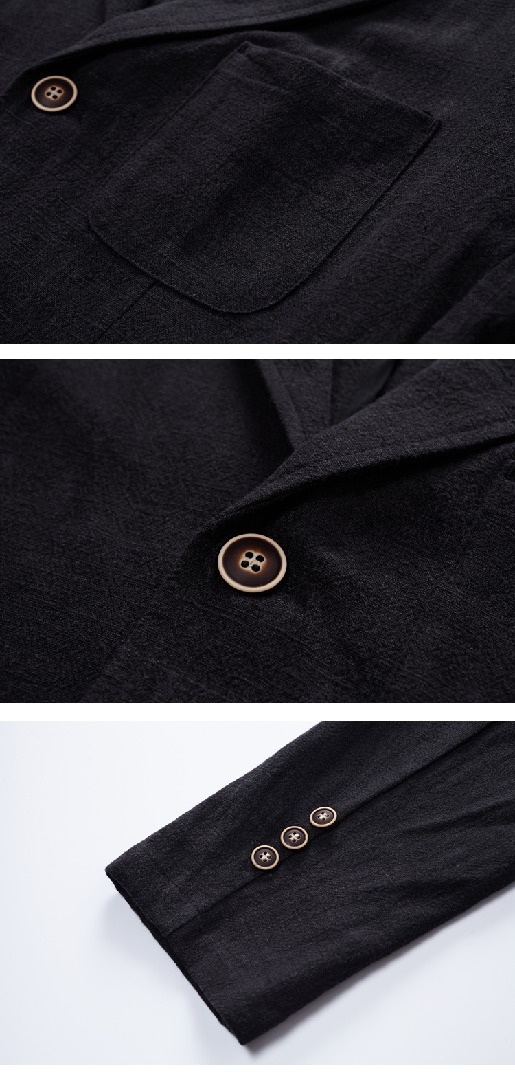 a6f43021098 2018 Spring And Autumn Men Fashion Brand Vintage Japan Style Linen Loose  Jacket Suit Male Smart Casual Jacket Coat Import Cloth