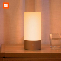English Version Xiaomi Mijia Yeelight LED Light Smart Indoor Night Light Bedside Lamp Remote Touch Control Smart App control