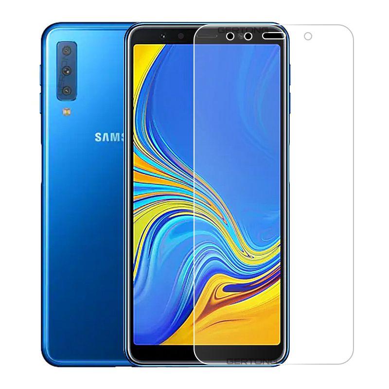 Image 2 - Защитное стекло для samsung Galaxy A7 2018 A750, закаленное стекло для samsung A7 2018, защитная пленка для экрана, защитное стекло 9H-in Специальные чехлы from Мобильные телефоны и телекоммуникации on AliExpress