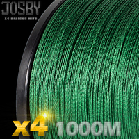 JOSBY Multifilament fishing line 1000M/1094yard strong pe braided line 4x super braided wire super braided fishing cord for sall