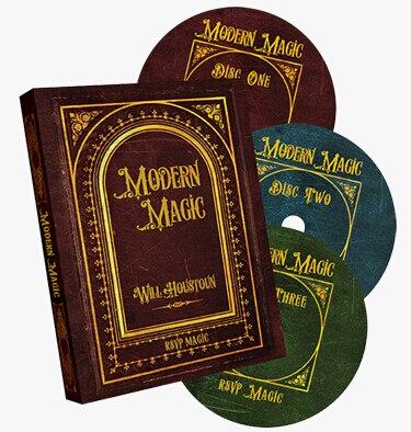 Modern Magic (3 DVD Set) By Will Houstoun And RSVP Magic Tricks