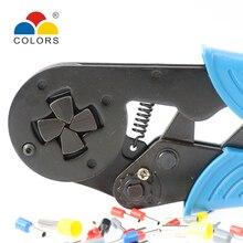 COLORS HSC8 16-4 crimping pliers hsc8 cable tools crimp plier crimper wire cutter alicate crimpador alicates