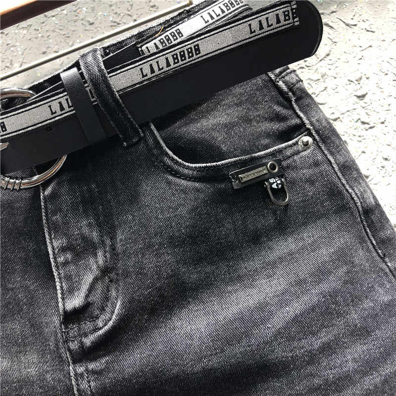 summer new plus size 4XL 5XL black denim women skirts pockets slim short lady sexy jean skirts top quality
