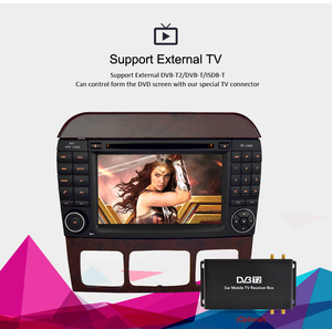 "Image 4 - 7 ""Android10.0 차량용 DVD 플레이어 GPS 네비게이션 벤츠 SCL 클래스 S320 S350 W220 W215 CL600 1998 2005 오디오 비디오 라디오 멀티미디어"