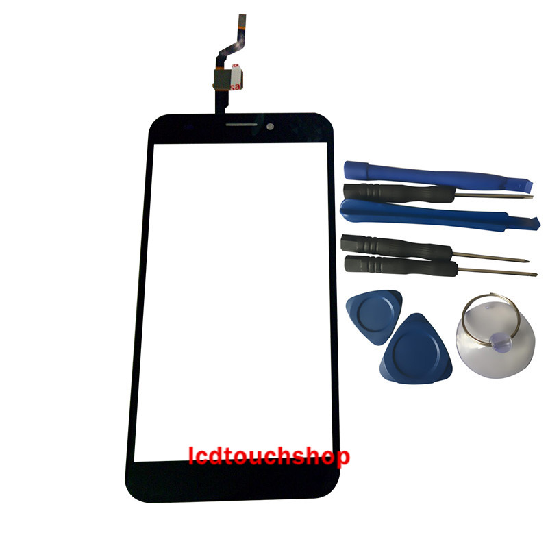 New For logicom l-ite 552 Touch Panel Digitizer Front Glass Lens Touchscreen Sensor Replacement With Tools