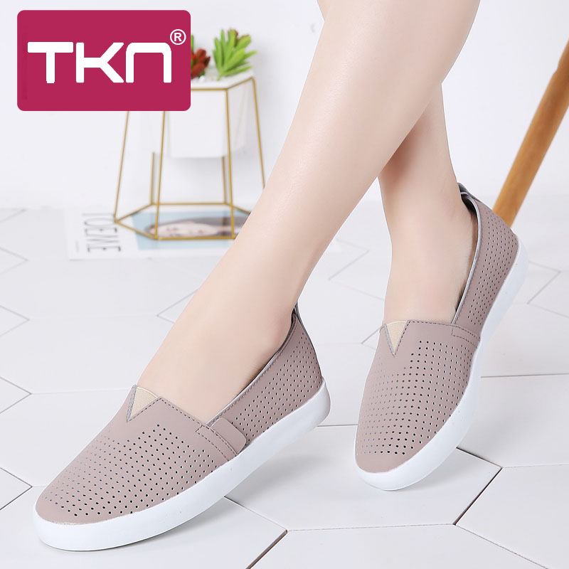 TKN Women flats Loafers ballet flats sneakers work shoes woman 2019 spring slip on tennis shoes walking shoes for women 83287TKN Women flats Loafers ballet flats sneakers work shoes woman 2019 spring slip on tennis shoes walking shoes for women 83287