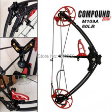 Triangle compound bow, 60LBS Draw Weight ,compound bow,China Archery Black Color for human outdoor hunting
