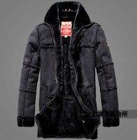 Çılgın promosyon! kış adamın yeni ürünler varış sıcak lüks ceket yenilik tasarım kürk deri aviator ceket giysi M-2XL