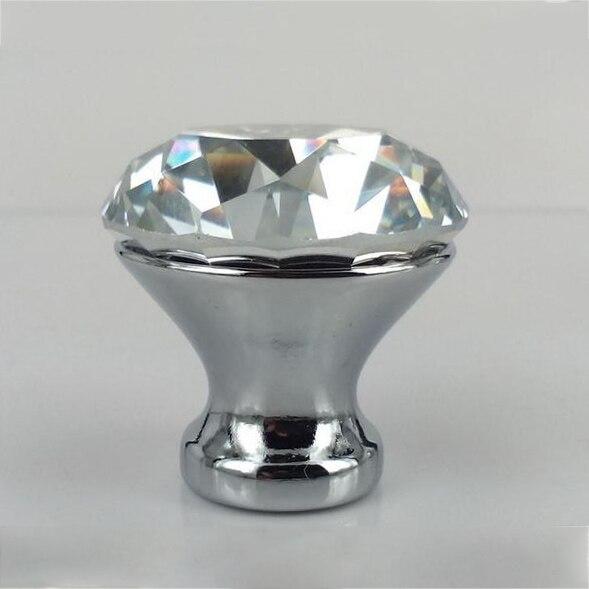 30mm Kristallglas Kommode Schublade Knöpfe Zuggriffe Küchenschrank ...