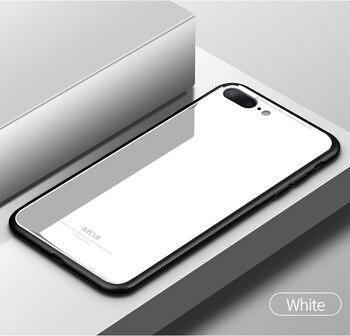 iPhone 8 Plus Tempered Glass Case Anti-Scratch Anti-Fingerprint