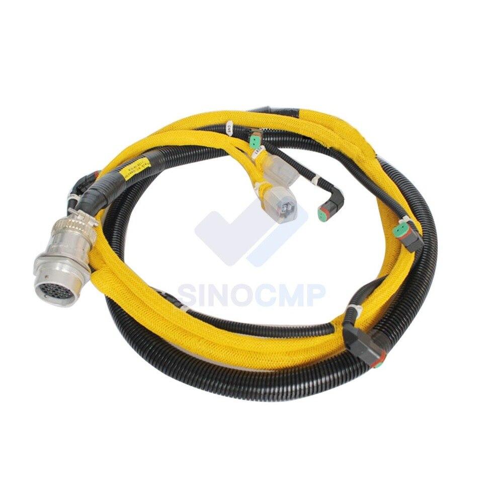 PC400 7 WA470 5 Engine Injection Wiring Harness 6156 81 9211 for Komatsu Excavator 3 month