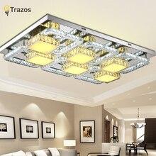 Ultracienki styl pokój dzienny lampy światła proste atmosferyczne oświetlenie restauracji lampy kryształowe lampy LED sypialnia sufit modern home