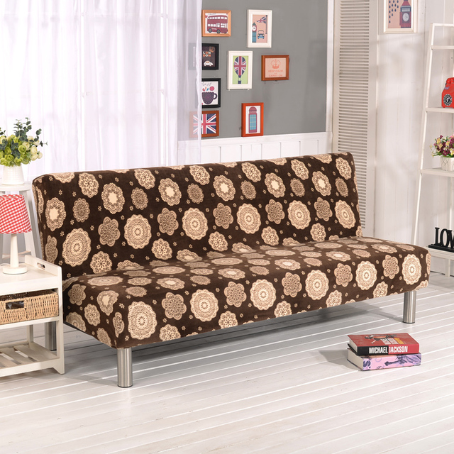 Stretch Sofa Cover Elastic Couch Cover Armless Furniture Covers