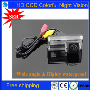 Free shipping Car reverse camera for Toyota Land cruiser Reiz 2009 parking back up rear view camera with waterproof night vision