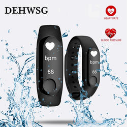 Для мужчин wo Смарт Мода Фитнес Спорт на открытом воздухе Браслет трекер bluetooth Smartwatch connecte Android, Apple телефон pk miband3