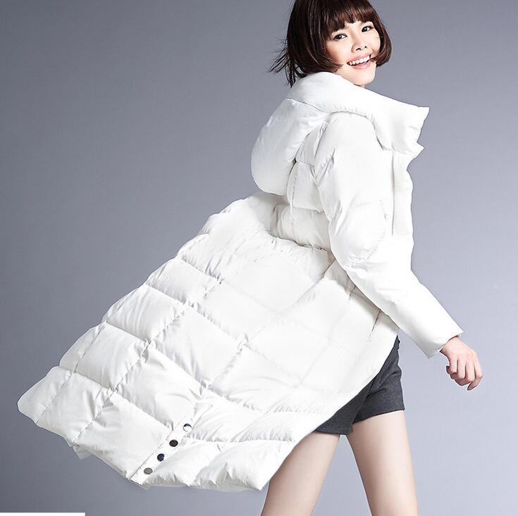 60b7dc439978 Long Women Down Coat Jacket Warm Woman Down Coat Winter Coat Women Coat  2016 New Fashion