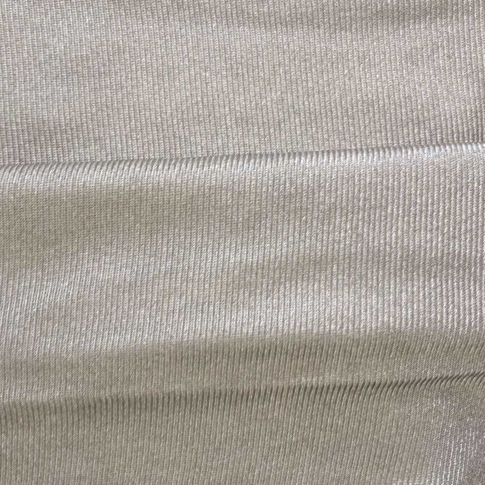 EARTHING Radiation Protection 100% SILVER FIBER FABRIC  Material Silver Conductive Fabric  Stretchable