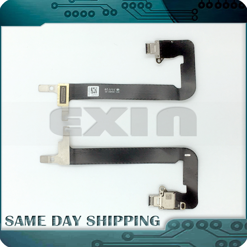 EXIN NEW 821-00482-05 821-00482-A I/O USB-C Power Jack DC-IN Board with Cable for MacBook Retina 12 A1534 2016 MLHA2 MLHC2 самсунг 821 сливной насос спб