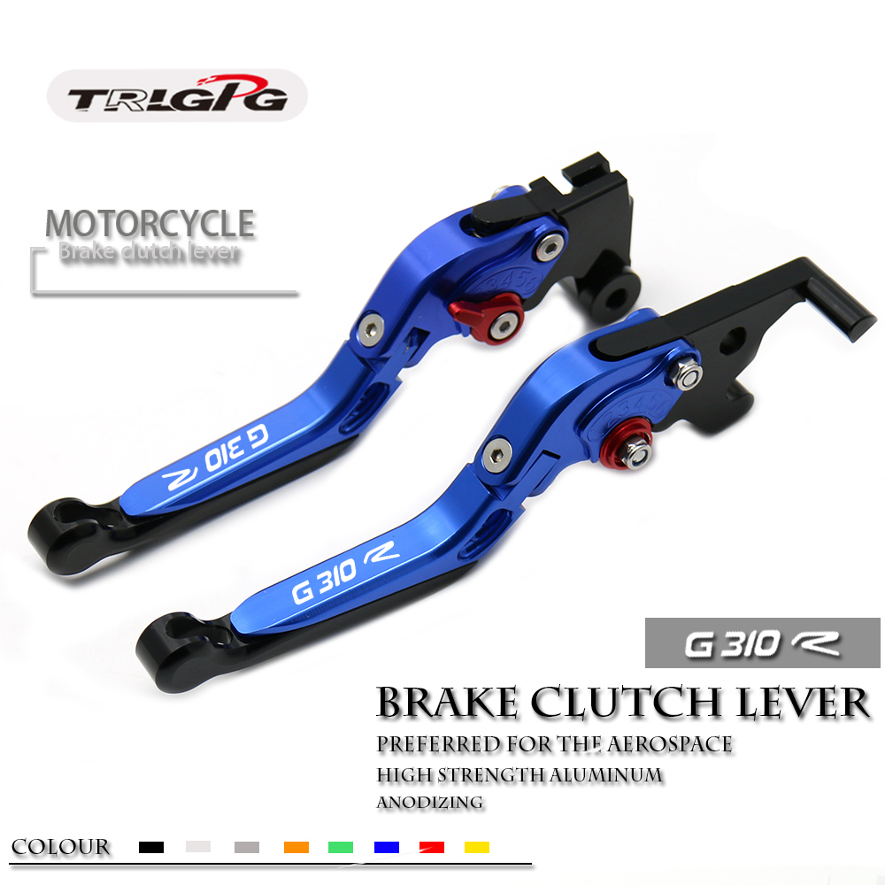 LOGO G310 R For BMW G310R G 310R 2017 2018 CNC Motorcycle Accessories Folding Extendable Brake Clutch Levers