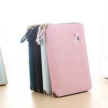 Yiwi 2019 Neue Zipper Leder Persönliche Binder Planer Agenda Planer Organizer Notebook, Feine 6 Ringe Binder Täglichen Planer A6