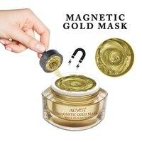 Magnetic Gold Mask Moisturizing Dead Sea Mud Pore Cleaner Magnet Detox Black Mud Mask Face Skin