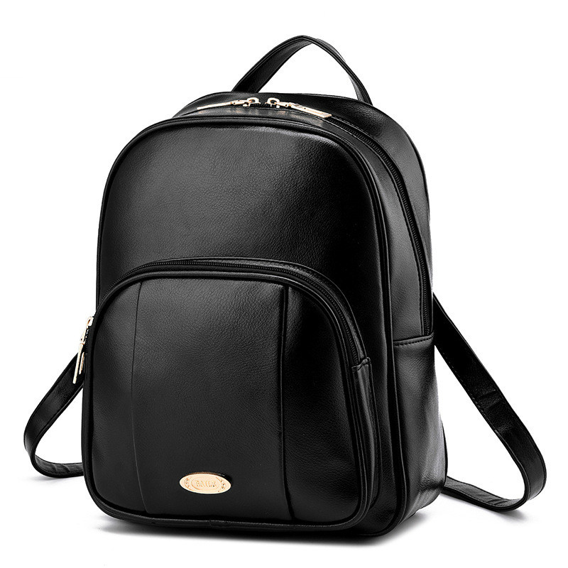 famous designer women small backpack leather women mini backpack college school bag teenage girls Female Travel