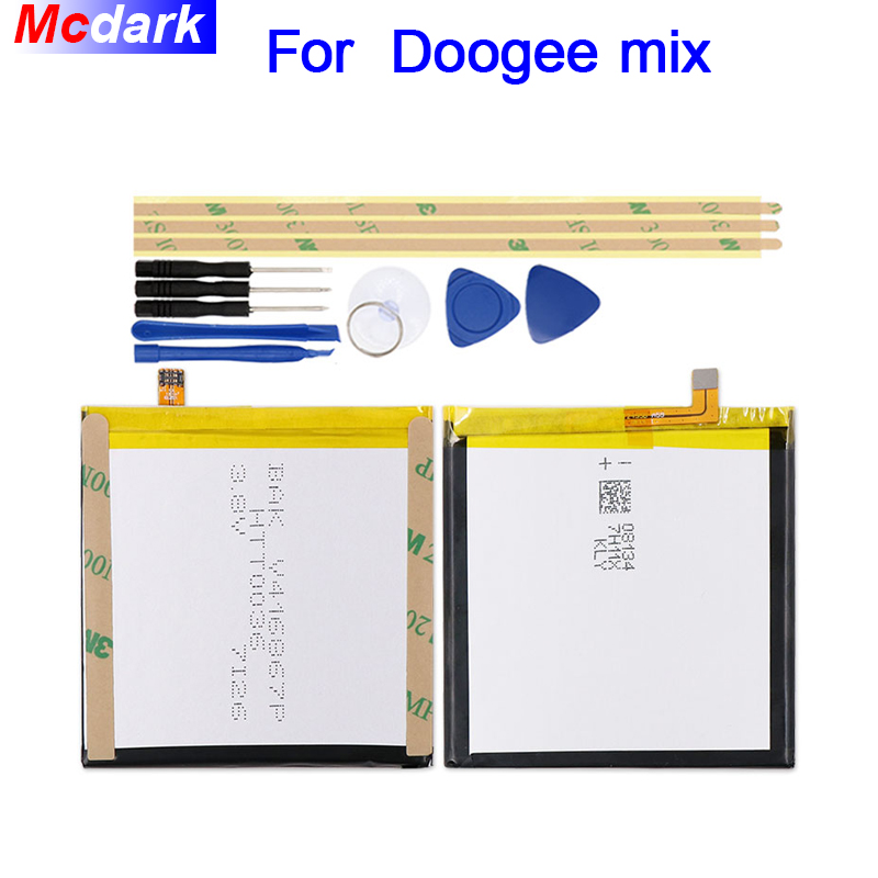 Mcdark 3380mAh Battery For Doogee mix Batterie Bateria Accumulator AKKU ACCU PIL Mobile Phone+tools Mcdark 3380mAh Battery For Doogee mix Batterie Bateria Accumulator AKKU ACCU PIL Mobile Phone+tools