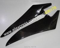 Hot Sales,2 x Carbon Fiber Tank Side Covers Panels For Yamaha YZF R1 2009 2010 2011 2012 2013 2014 YZF R1 Tank Side Cover Panel