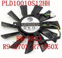 Free Shipping PLD10010S12HH 94mm MSI R9 280X R9 270X R7 260X Graphics Card Fan