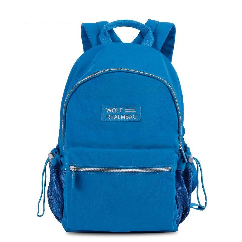 Outdoors Backpack Book Bag Men Casual Lightweight Nylon Day Pack Women Deisigner Leisure Travel Ruckdack Feminine