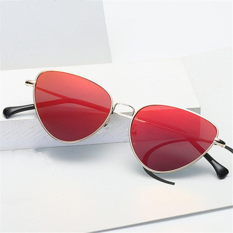 7299efeee2 Oulylan las mujeres de ojo de gato gafas de sol mujer marca de lujo Vintage  de