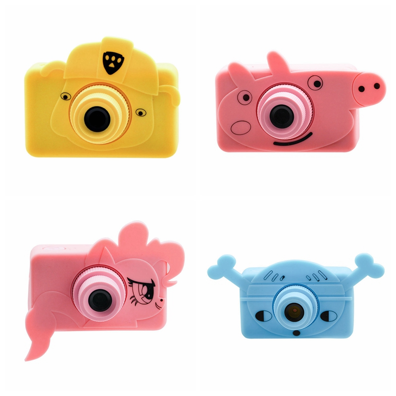 8MP Children Educational Toddler Cartoon Photo Camera Kids Mini Digital Toy Camera Photography Gifts Waterproof hd 2.0inch Cam|Mini Camcorders| |  - title=