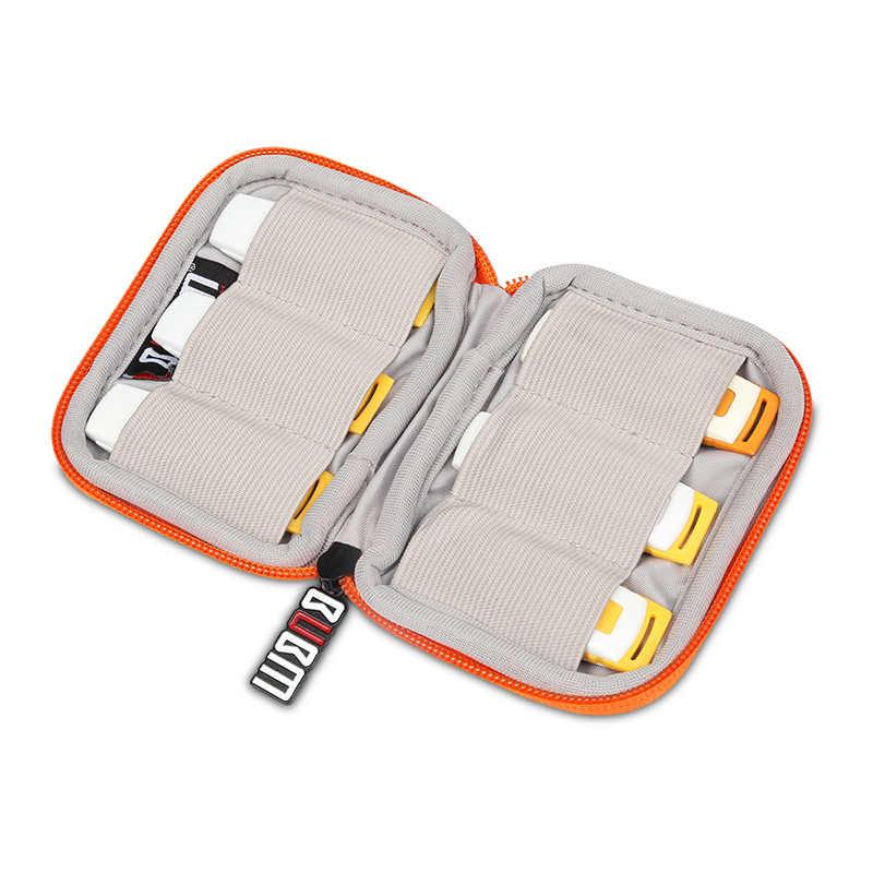 BUBM çanta U disk çantası 6 adet U tipi kalkan çantası 7 renkler renkli dijital alıcı çanta düzenleyici seyahat çantası kılıf