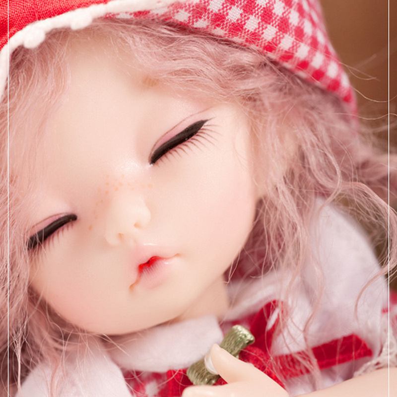 Image 3 - BJD Doll Pukifee Ante 1/8 Cute Fashion Resin Natural Pose Toys for Girls Toy Girl Mini Baby Jointed Dolls FL-in Dolls from Toys & Hobbies