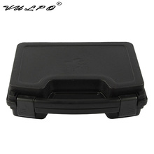 VULPO ABS Pistol Case Tactical Hard Gun Padded Foam Lining for hunting airsoft