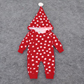 Baby Romper Long Sleeve Cotton Star Pattern Baby Winter Jumpsuit 2016 Hoodies Warm Baby Rompers Winter Christmas Baby Clothes
