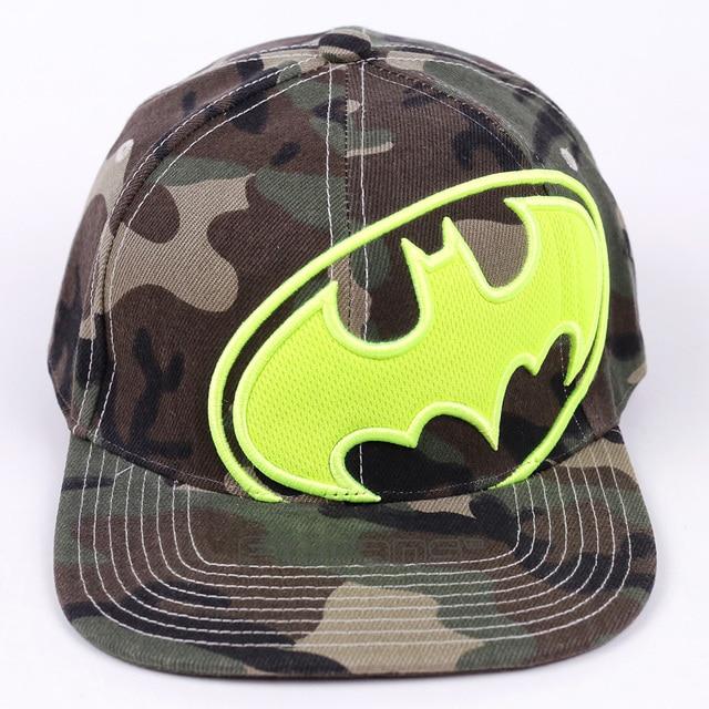 2017 nueva marca de moda Batman sombreros de béisbol para hombres mujeres  casual hip hop SnapBack a9459fa8cf5
