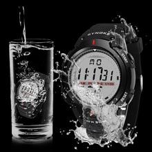SYNOKE Watches Men 30M Waterproof LED Digital Watch Men Outd