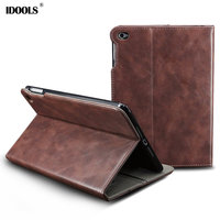 Tablet Cover Case For Apple Ipad Mini 3 2 1 PU Leather Magnetic Coque With Stand