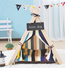 Dog House Nest With Mat Foldable Pet tent Dog Bed Cat Bed House For Small Medium Dogs Travel Pet Bed Bag Product SE19