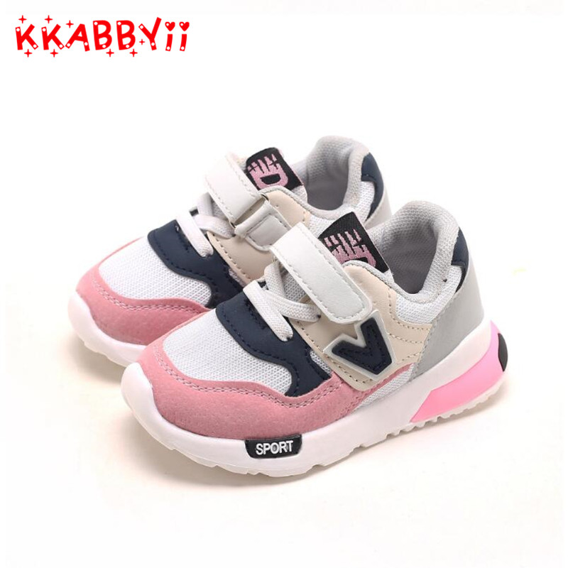 2018 HookLoop hot sales baby footwear breathable casual baby shoes high quality girls boys sneakers cute Lovely baby toddlers-in Sneakers from Mother  Kids on Aliexpresscom  Alibaba Group