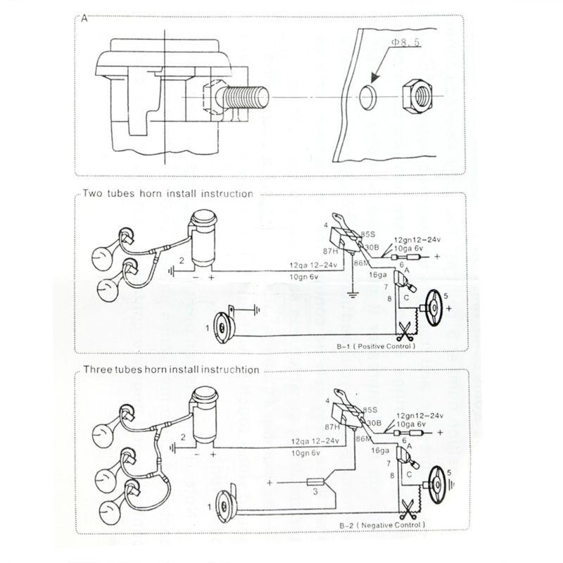 Inspiring Omega Air Horn Wiring Diagram Images - Best Image Diagram ...