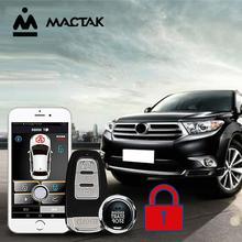 MACTAK Highlander 12 car accessories Keyless Entry Comfort System PKE Phone APP Remote Start Car Engine Alarm Push  963