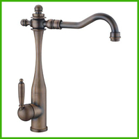 Brand New Antique Brass Classic Kitchen Faucet Economic Style For Sink