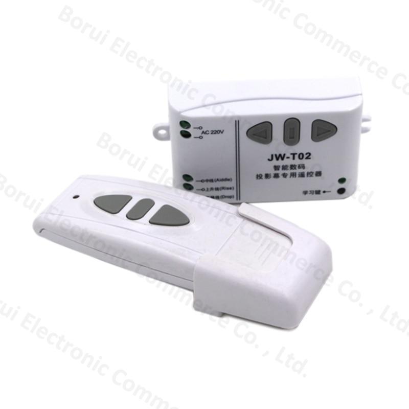 все цены на  AC 220V Motor RF Wireless Remote Control Switch System,315MHZ 220V UP&DOWN Remote control/Motor reversing controller  онлайн
