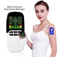 Eletrode Pads Electrical Muscle Stimulator Dual Machine Nose Rhinitis Sinusitis Therapeutic Acupuncture Full Body Massage