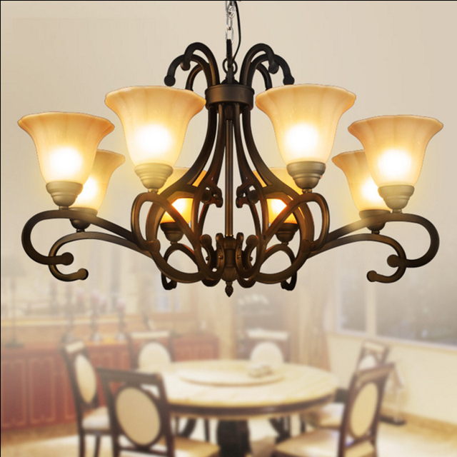 Bohemian Large Antique Chandelier Brass Chandeliers Burnt Sienna Finish Traditional Oiled Copper