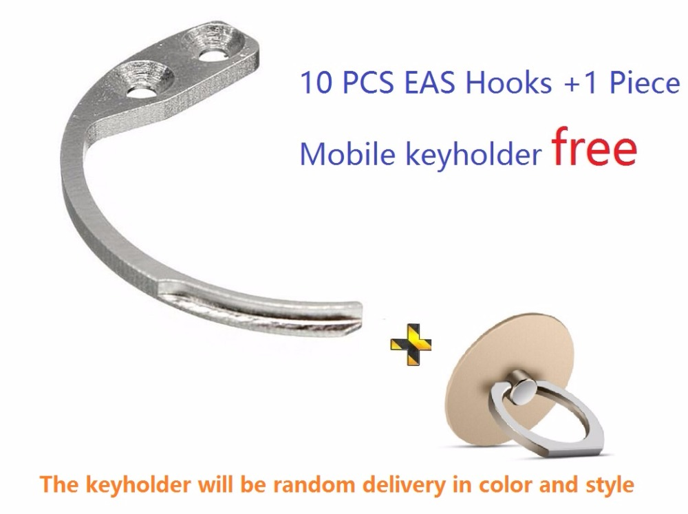 free shipping 10pcs/lot eas hook key mini eas detacher for 58Khz super security tag ,convenient hook detacher